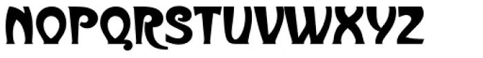 Metropolitaines D Font UPPERCASE