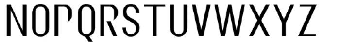 Metropolitan Font LOWERCASE