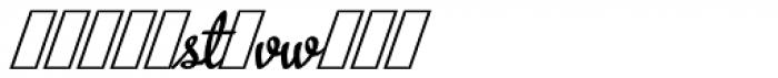 Metroscript Alt Font UPPERCASE