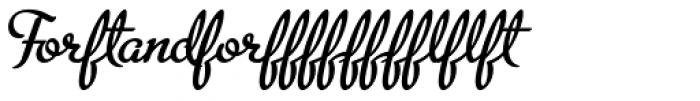 Metroscript Lig Font OTHER CHARS