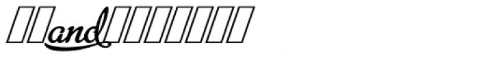 Metroscript Swash Font OTHER CHARS