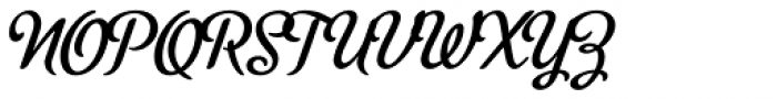 Metroscript Font UPPERCASE