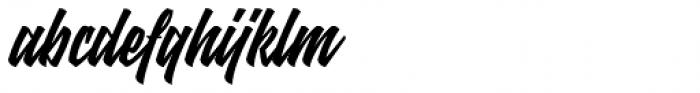 Mettars Font LOWERCASE