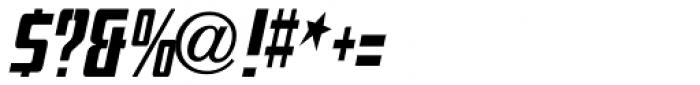 Mevada Oblique SRF Medium (normal) Font OTHER CHARS