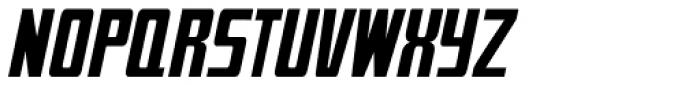 Mevada Oblique SRF Medium (normal) Font UPPERCASE