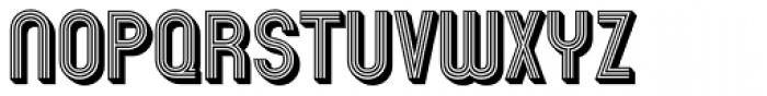 Mexcellent 3D Font UPPERCASE