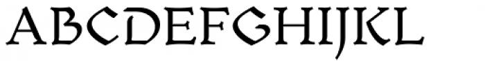 Mezalia Regular Font UPPERCASE