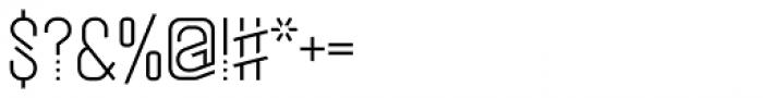 Mezitha Display Font OTHER CHARS