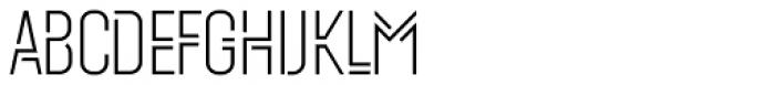 Mezitha Display Font UPPERCASE