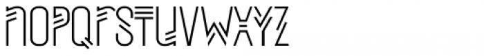 Mezitha Display Font LOWERCASE