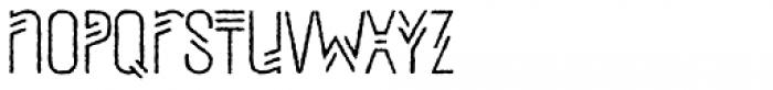 Mezitha Rough Font LOWERCASE