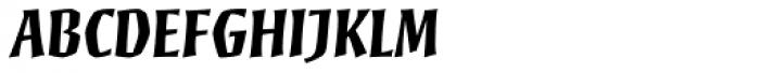 Mezz Std Bold Font UPPERCASE