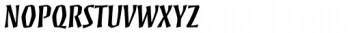 Mezz Std SemiBold Font UPPERCASE