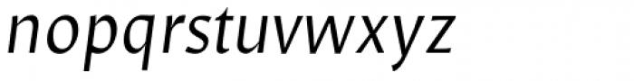 Mezzo Italic Font LOWERCASE