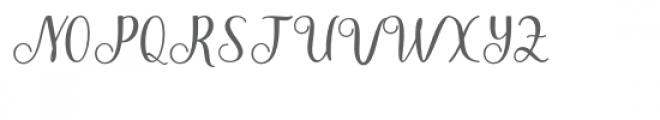 Melanie Font UPPERCASE