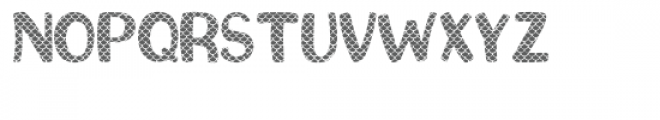 Mermaid Scales Font UPPERCASE