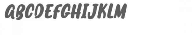 Merryah Italic Font UPPERCASE