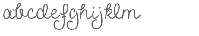 melanie font Font LOWERCASE