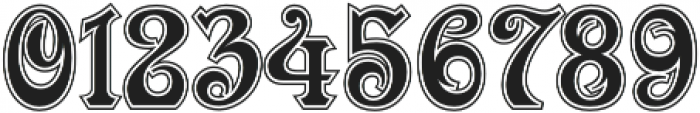 MFC Ambeau Monogram Luxe otf (400) Font OTHER CHARS