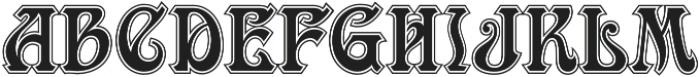 MFC Ambeau Monogram Luxe otf (400) Font UPPERCASE