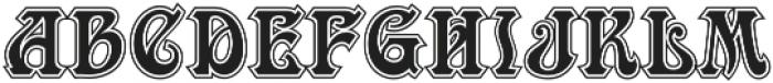 MFC Ambeau Monogram Luxe otf (400) Font LOWERCASE