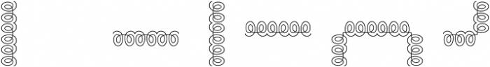 MFC Arteaga Borders Two Regular otf (400) Font OTHER CHARS