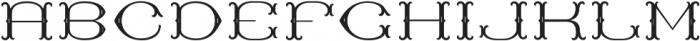 MFC Baelon Monogram One otf (400) Font UPPERCASE