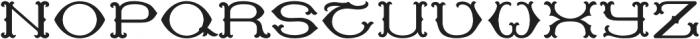 MFC Baelon Monogram Solid otf (400) Font UPPERCASE
