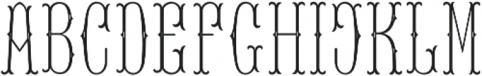 MFC Baelon Monogram Two otf (400) Font LOWERCASE
