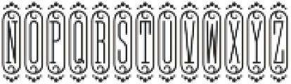 MFC Bijou Monogram Regular otf (400) Font LOWERCASE