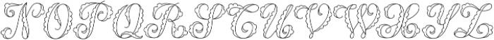 MFC Billow Monogram Regular otf (400) Font LOWERCASE