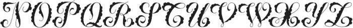 MFC Billow Monogram Solid otf (400) Font UPPERCASE