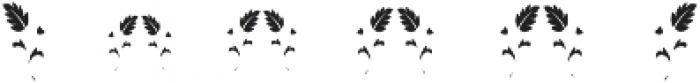 MFC Blossom Monogram One otf (400) Font OTHER CHARS