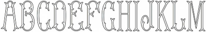 MFC Blossom Monogram Regular otf (400) Font LOWERCASE