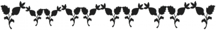 MFC Blossom Monogram Solid otf (400) Font OTHER CHARS