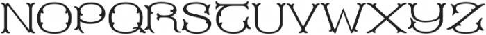 MFC Blossom Monogram Solid otf (400) Font UPPERCASE