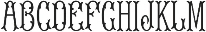 MFC Blossom Monogram Solid otf (400) Font LOWERCASE