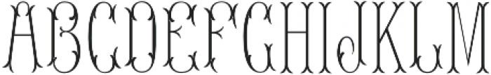 MFC Blossom Monogram Two otf (400) Font LOWERCASE