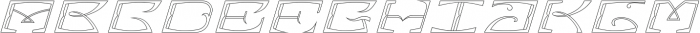 MFC Bontebok Monogram Regular otf (400) Font LOWERCASE