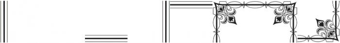 MFC Bruce Corners Three Regular otf (400) Font OTHER CHARS