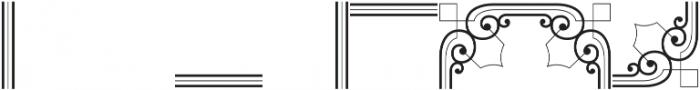 MFC Bruce Corners Two Regular otf (400) Font OTHER CHARS
