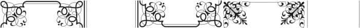 MFC Bruce Corners Two Regular otf (400) Font LOWERCASE