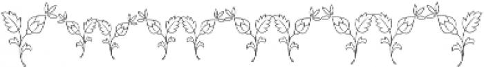 MFC Budding Monogram Basic otf (400) Font OTHER CHARS