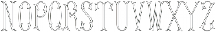 MFC Budding Monogram Flourish otf (400) Font LOWERCASE