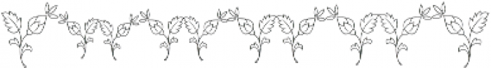 MFC Budding Monogram Regular otf (400) Font OTHER CHARS