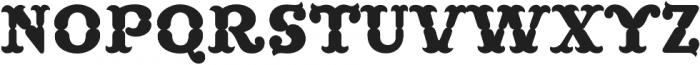 MFC Buttergin Monogram Regular otf (400) Font UPPERCASE
