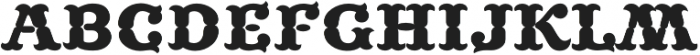 MFC Buttergin Monogram Regular otf (400) Font LOWERCASE