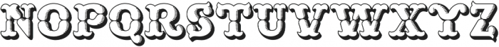 MFC Buttergin Monogram Shade otf (400) Font UPPERCASE