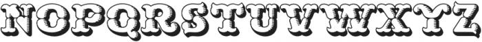MFC Buttergin Monogram Shade otf (400) Font LOWERCASE