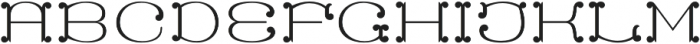 MFC Capulet Monogram One otf (400) Font UPPERCASE